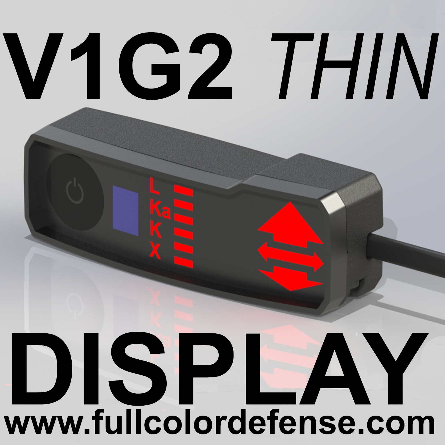 как выглядит THIN ALL RED V1G2 GEN2 Valentine One Concealed Display Rear or Side Cord фото