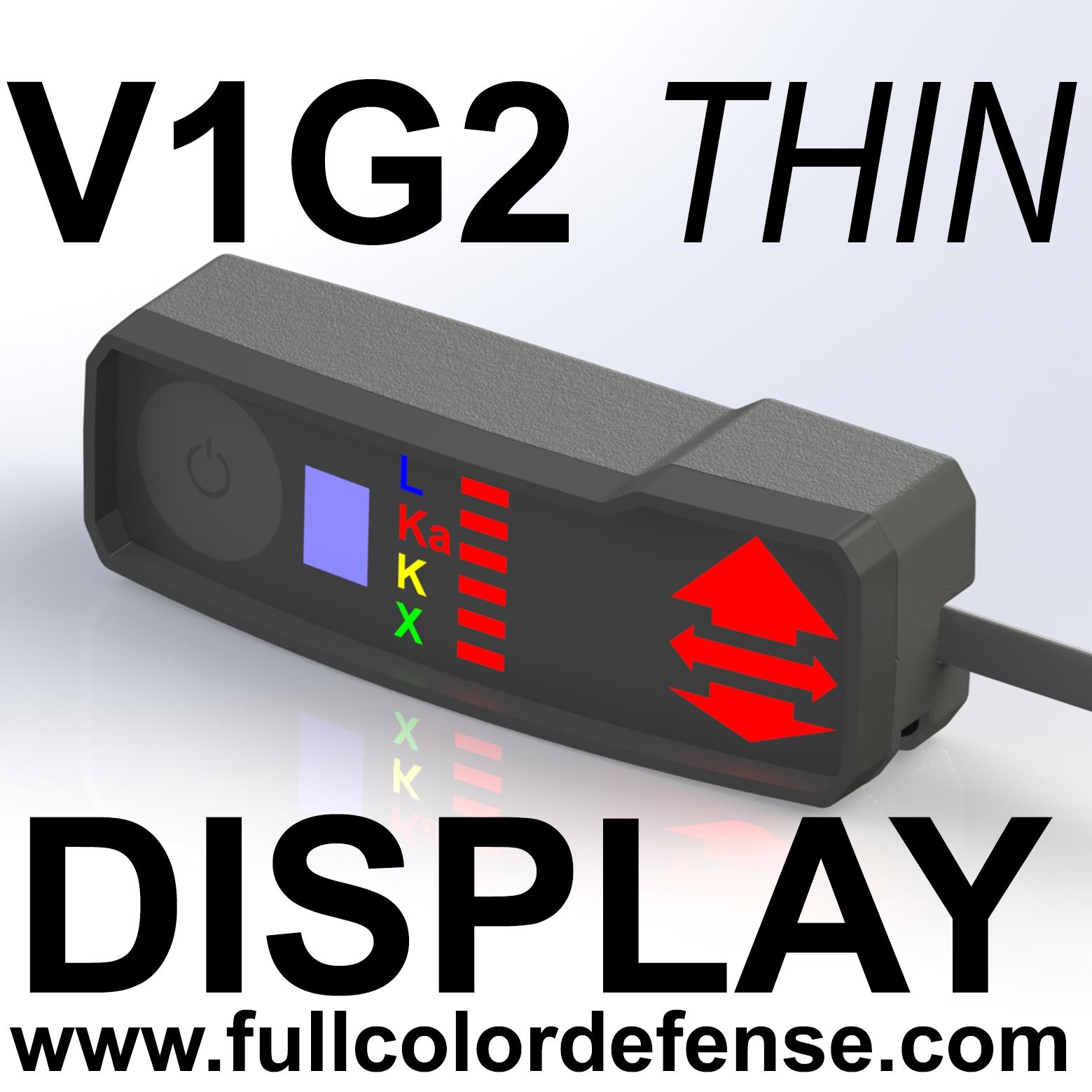 как выглядит THIN COLOR V1G2 GEN2 Valentine One Concealed Display Rear or Side Cord фото