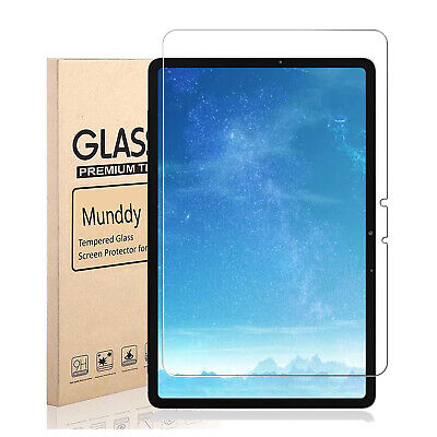 """PROTECTOR CRISTAL TEMPLADO Para Samsung Galaxy Tab S7+ S7 Plus T970 12.4""""..."""