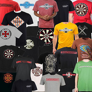 INDEPENDENT-CAMION-Maglietta-disegni-assortiti-Skateboard-T-Shirt-2