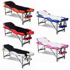 Luxury Lightweight Portable Folding Massage Table Bed Beauty Salon Therapy Couch