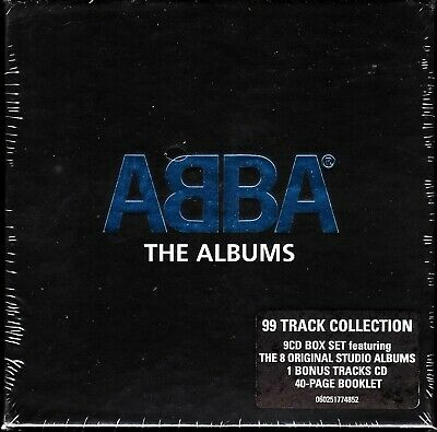 ABBA, The Albums (9 CD Box Set) AGNETHA FALTSKOG, ANNI-FRID, IMPORT NEW (SEALED)