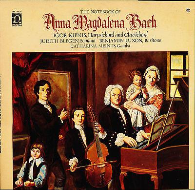 (Note Book Of Anna Magdalena Bach Igor Kipnis Nonesuch – DB-79020 2LP PROMO)