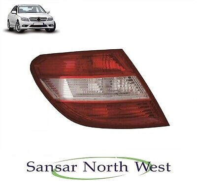 C Class 2011-2015 Estate Clear LED Rear Tail Light N//S Passenger Left