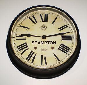 Royal Air Force Style, RAF Scampton, Souvenir Vintage Style Wall Clock.