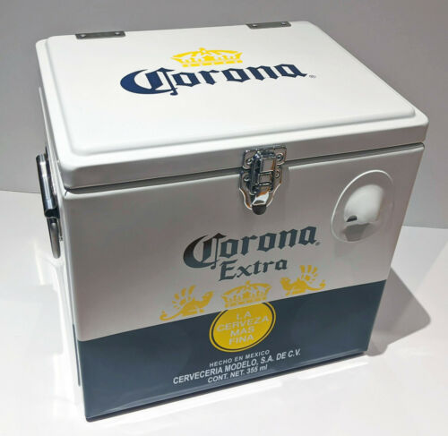 Corona Beer Stainless Steel Vintage Cooler - Rare - Brand NEW