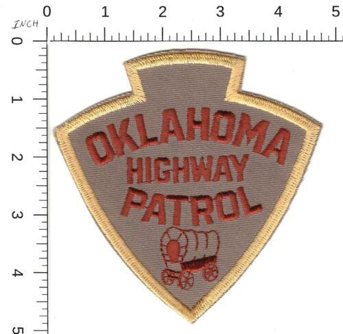 OKLAHOMA HIGHWAY PATROL POLICE SHOULDER PATCH OK