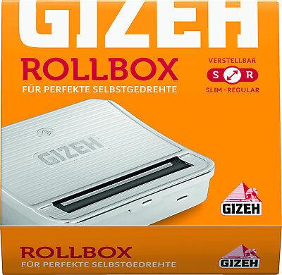 10 x Gizeh Rollbox Wickler Stopfer Neu+OVP