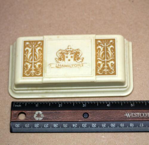 Vintage Hamilton Wrist Watch Box Ladies Celluloid