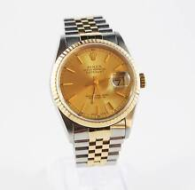 ROLEX DATEJUST TWO-TONE 36MM | The Watch Finder Co. Melbourne CBD Melbourne City Preview