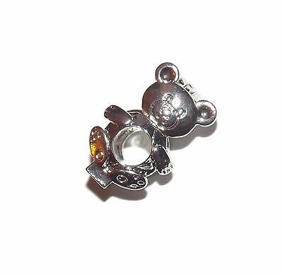 Teddy Bear Pearl Cage Pendant Fits 7Mm Bead Pick A Pearl Style Wish Locket