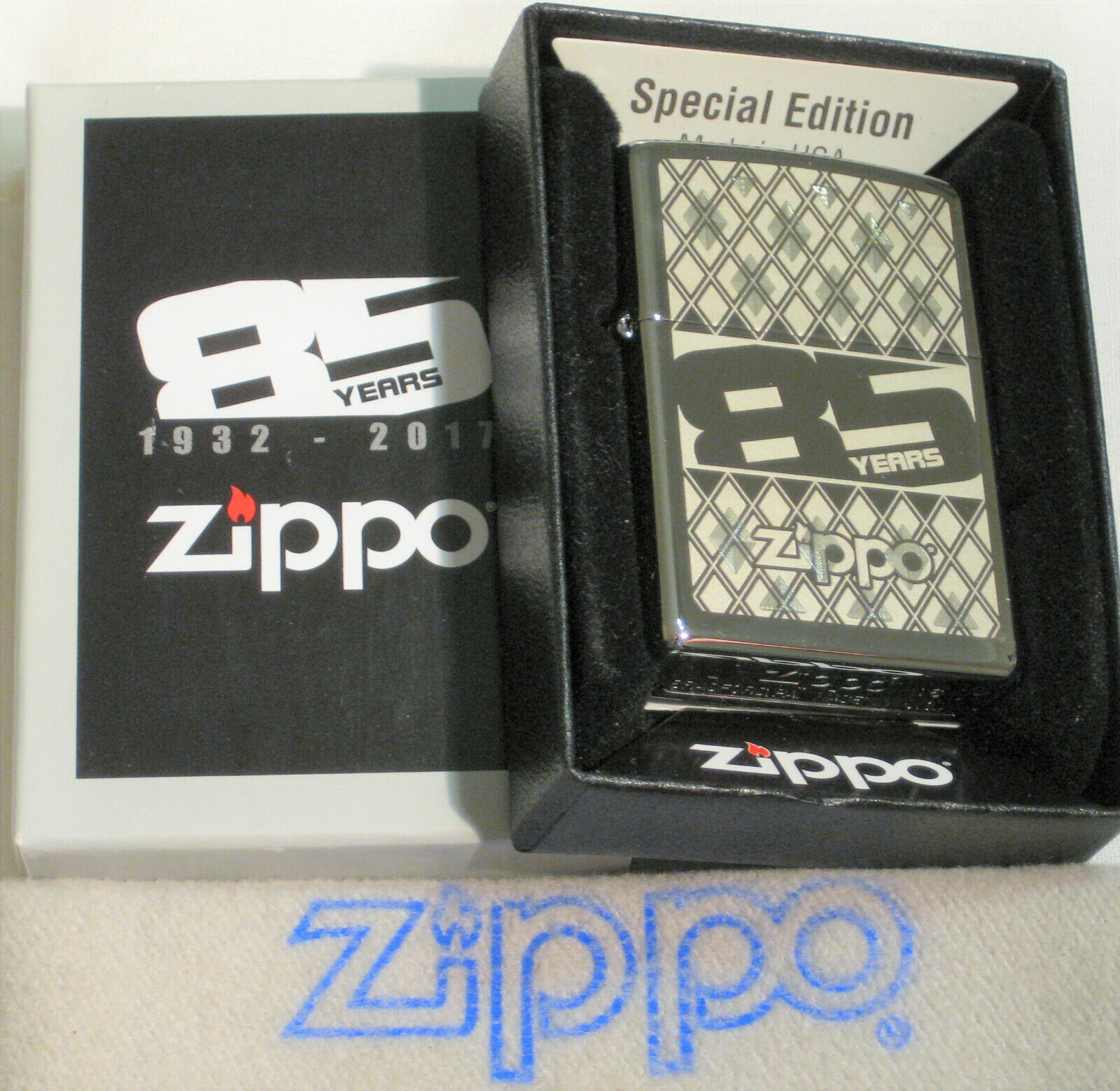 ZIPPO 85TH ANNIVERSARY Lighter SPECIAL EDITION New 29438 MIN