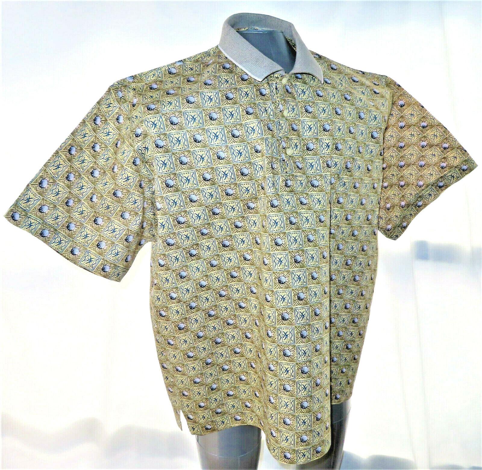 Grand Slam Tour Men s Golf Ball Shirt Size 2X - $25.00
