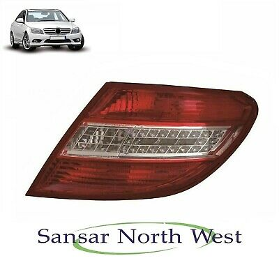 Mercedes C Class W203 C55 AMG 5.5 09.2003-On Rear Light Lamp Right Driver Side