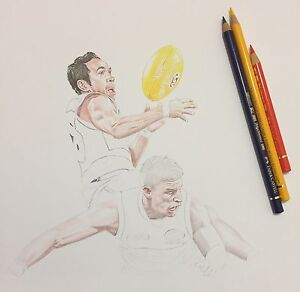 Used, Adelaide Crows EDDIE BETTS ARTWORK AUCTION for sale  Ingle Farm