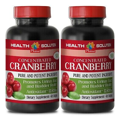 kidney cleanse - CONCENTRATED CRANBERRY 50:1 - natural fat burner 2B