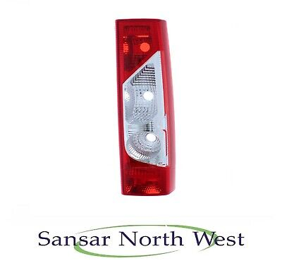 For Fiat Scudo Mk2 Van 2007-On Rear Back Tail Lights Lamps Non Led Pair OS NS