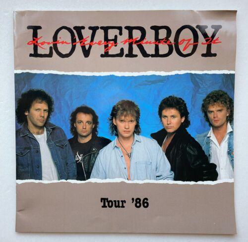 1986 Loverboy Tour Program