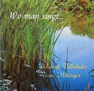 CD Volkslieder Vol.2. Klaviermusik zum Mitsingen. Seniorenaktivierung.