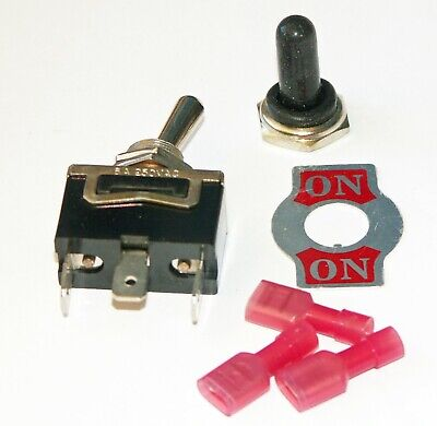 Toggle Switch Pack Of 1 Spdt On-on 10 Amp K102-s