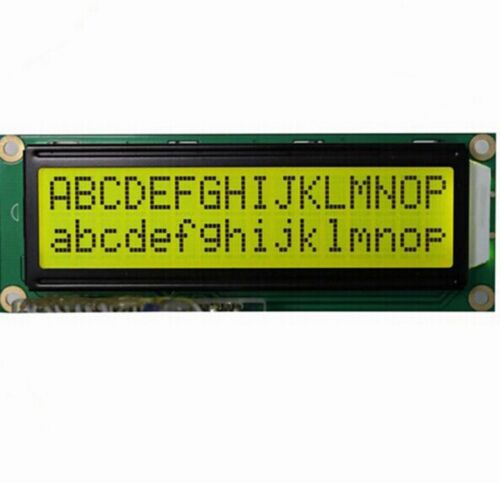 HD44780 16x2 LCD with large font and backlight ***FREE SHIPPING***