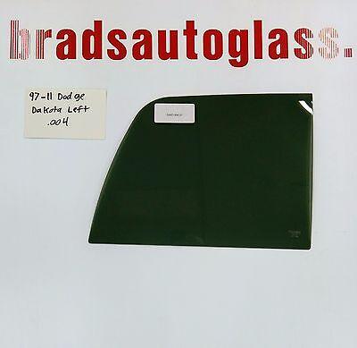 1997-2011 Dodge Dakota LEFT SIDE sliding rear window back glass slider