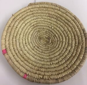 Woven Wall Hanging or Large Trivet, Hot Pad or Centre Piece