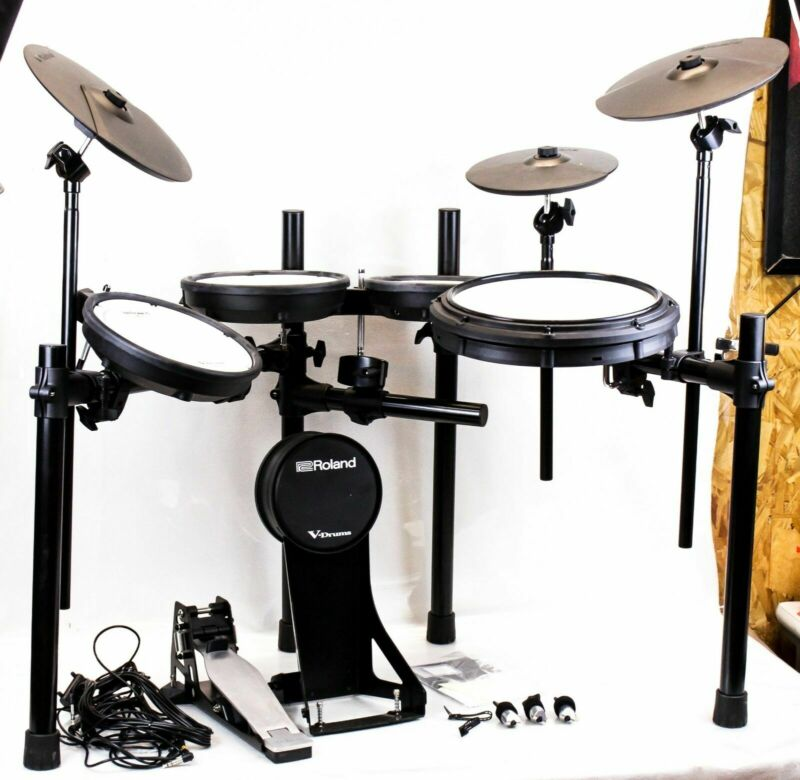Roland V-Drums TD-17KV Electronic Drum Set with MDS Standard Stand, NO MODULE!