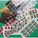 120 Assorted Mixed Designs Partial Panes & Pieces US PS FOREVER STAMPS FV $58.80