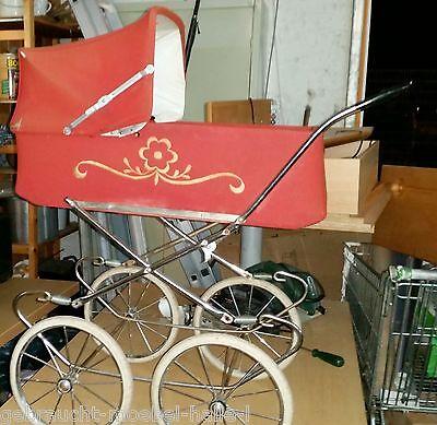 original alter Retro Puppenwagen / Kinderwagen aus den 70er Jahre alte Puppen