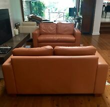 Italian Leather Lounges Cammeray North Sydney Area Preview