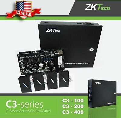 ZKteco C3 series Door Access Control, ZK TCP/IP RS485 Panel/w Power and readers Series Access Control