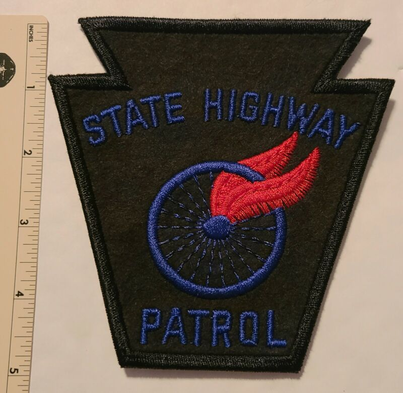 State Highway Patrol Pennsylvania State Police. Hard to Find. Not Plastic Back.