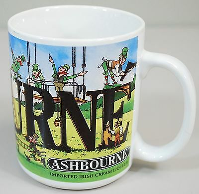 ASHBOURNE IRISH CREAM LIQUEUR - Coffee Mug - Unripe Leprechauns