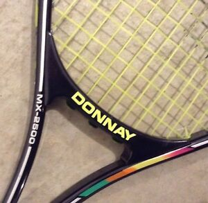 Tennis racquets. Downsizing moving sale