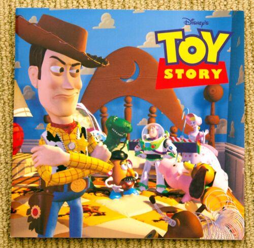 Pixar Walt Disney TOY STORY 2 softcover VERY RARE marketing BOOKLET book