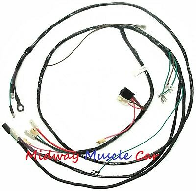 Chevy pickup truck suburban 56 57 58 59 V8 engine wiring harness for sale  Shipping to United Kingdom