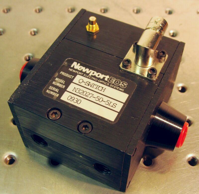 NEWPORT EOS Q-SWITCH model N32027-50-5LS for Nd:YAG LASER