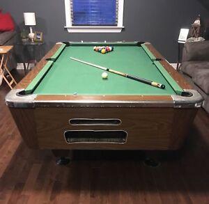 Slate & Felt Pool Table - still posted, STILL AVAIL!