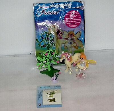 Playmobil 5440 Flower Fairy & Unicorn Sun Beam 100% complete & original bag