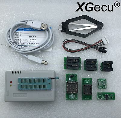 Xgecu Programmer Tl866ii Plus For Spi Flash Nand Eprom Mcu Pic Avr Gal7 Adapter