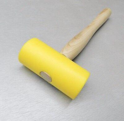 Nylon Hammer Plastic Head Yellow Mallet 1-3/4