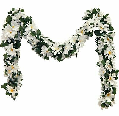 Daisy Garland MANY COLORS Wedding Arch Gazebo Silk Flowers Centerpieces - Flower Centerpieces