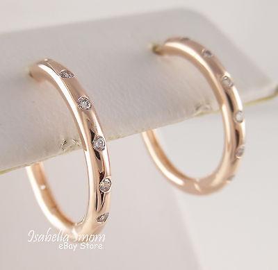 Droplets Authentic Pandora Rose Gold