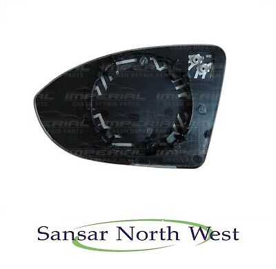 For Volkswagen Sharan 1998-03 Right Driver side wing mirror glass