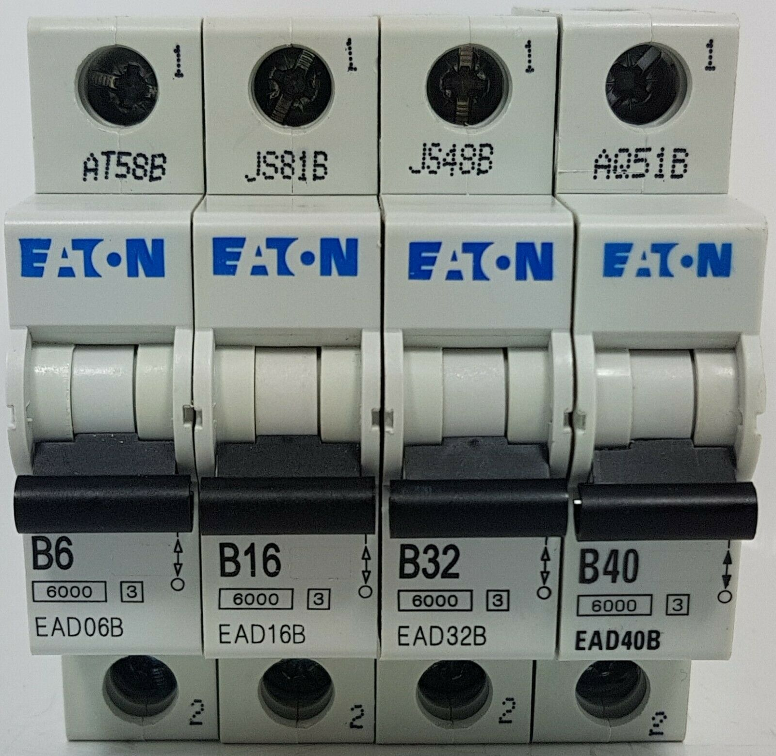 MEM Bill Eaton triple pole mcb Type B /& C /& 2 /& 3 6A  10A  16A  40A  63A mcb