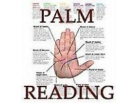 Hand healing reading to put your mind at rest