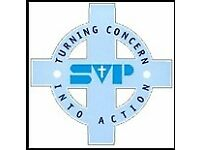 Volunteer Shop Floor Assistant - St Vincent's Community Shop - Houghton le Spring