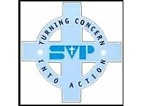 Volunteer Shop Floor Assistant - St Vincent's Community Shop - Lemington