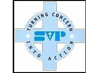 Volunteer Shop Floor Assistant - St Vincent's Community Shop - Kenton